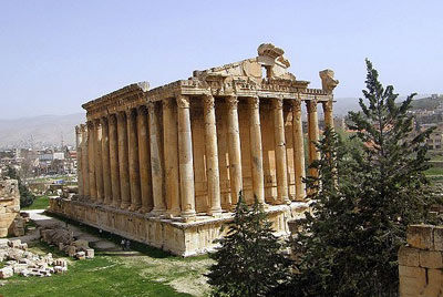 معبد ژوپیتر,معبد ژوپیتر در لبنان,معبد ژوپیتر در بعلبک