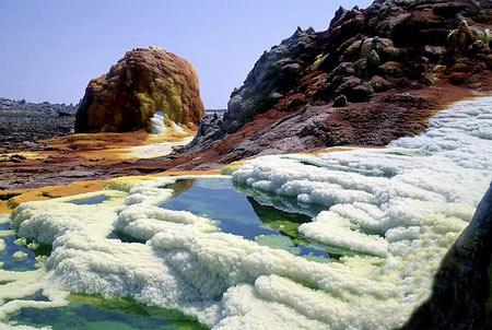 مکانهای دیدنی,آتشفشان دالول,آتشفشان Dallol اتیوپی