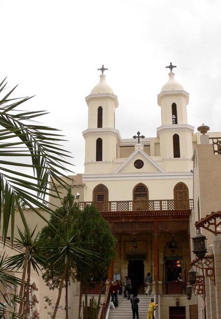 مکانهای زیارتی, کلیسای معلق, کلیسای معلق در مصر