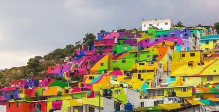 شهر رنگین کمانی, شهر Germen Crew, شهر رنگین کمان در مکزیک