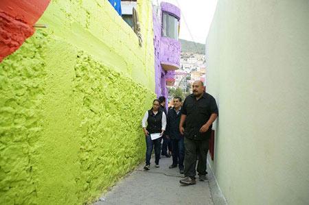 شهر رنگین کمانی,جاذبه های گردشگری مکزیک, شهر رنگین کمان در مکزیک