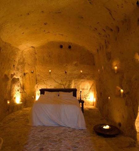 هتل,هتل غاری,غار سکستانتیو لگروته دلا سیویتا