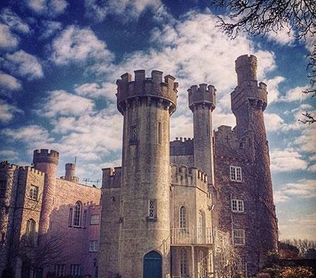 """قلعه """"اشفورد"""" در ایرلند,بهترین قلعه های دنیا,جالبترین قلعه های دنیا"""