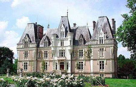 """قلعه """"بووریر"""" در فرانسه,تصاویر زیباترین قلعه های دنیا, قلعه های دنیا"""