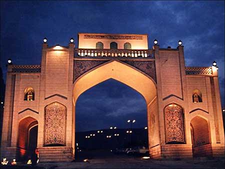 جاذبه های گردشگری شیراز,دروازه قرآن شیراز