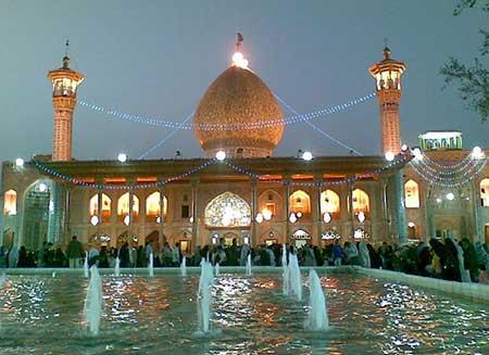 جاهای دیدنی های شهر شیراز,امامزاده شاه چراغ در شیراز