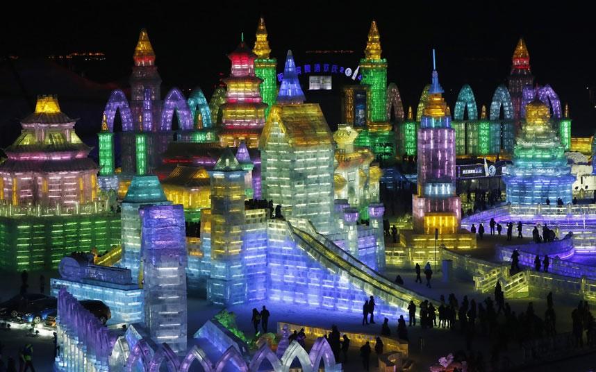 عظیم ترین فستیوال یخیِ جهان در چین