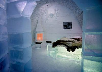 هتل یخی,هتل یخی در سوئد,عجایب گردشگری,اماکن کردشگری عجیب