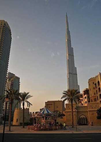برج خلیفه دبی,برج خلیفه
