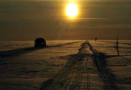 رانندگی روی دریای بالتیک