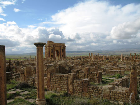 تیمگاد در روم باستان,عکس های شهر تیمگاد,شهر تیمگاد