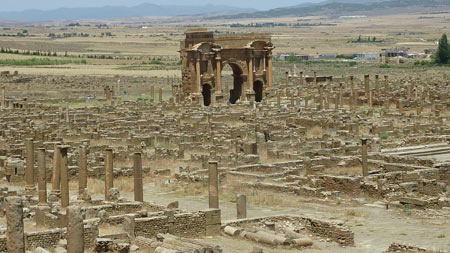 شهر تاریخی تیمگاد,عکس های شهر تیمگاد,شهر تیمگاد