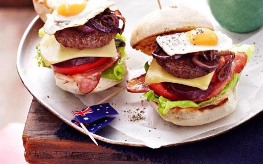 بشقاب غذای استرالیایی ، متنوع ترین در جهان