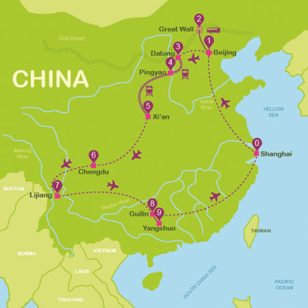 سفر به پکن ، پایتخت باشکوه چین