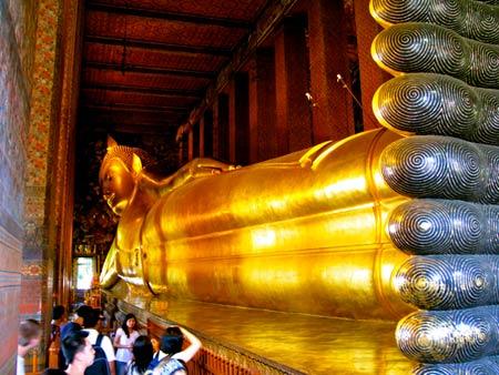 قدیمی ترین معبد تایلند ، معبد بودای خوابیده