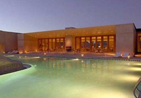 هتلی سرشار از آرامش در اعماق کویر آمریکا