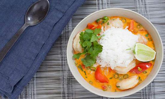 آشپزی تایلندی: طرز تهیه خورش دریایی