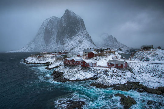 رویایی ترین روستاهایی که به عمرتان دیده اید +تصاویر