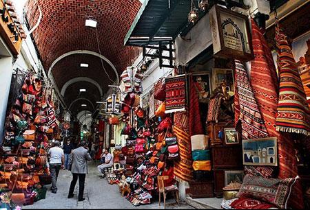 زیباترین بازار سنتی تونس به روایت تصویر