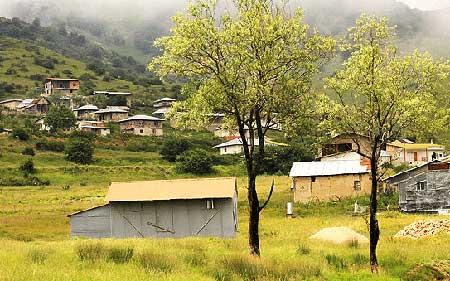 دهکده ییلاقی جهان نما در استان گلستان