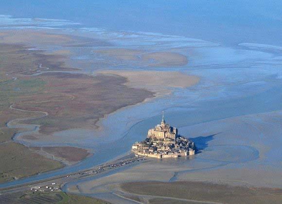 جزیره شگفت انگیز «مون سن میشل» در نرماندی فرانسه