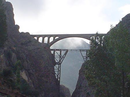 معماری بسیار زیبای پل ورسک در مازندران