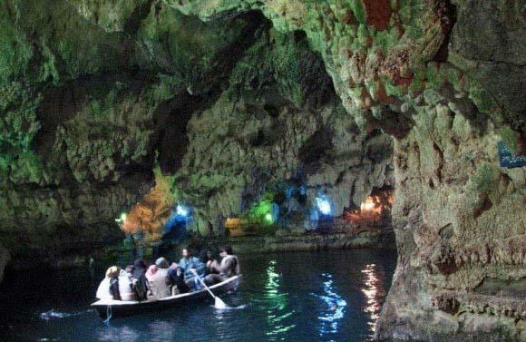 غار آبی سهولان بسیار زیبا و دیدنی در مهاباد