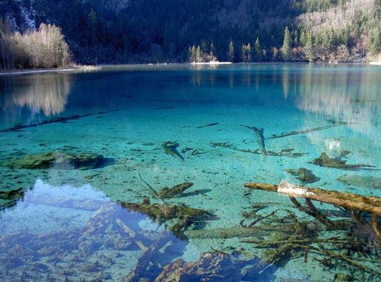 10 دریاچه فوق العاده زیبا که باید ببینید