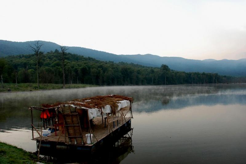 دریاچه بسیار زیبای الندان در ساری + تصاویر