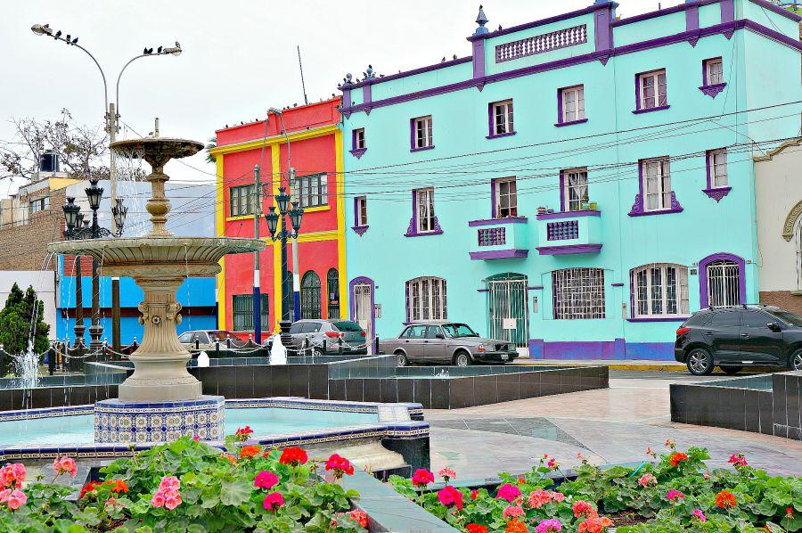 شهرهایی پر از رنگ های شاد و سرزنده